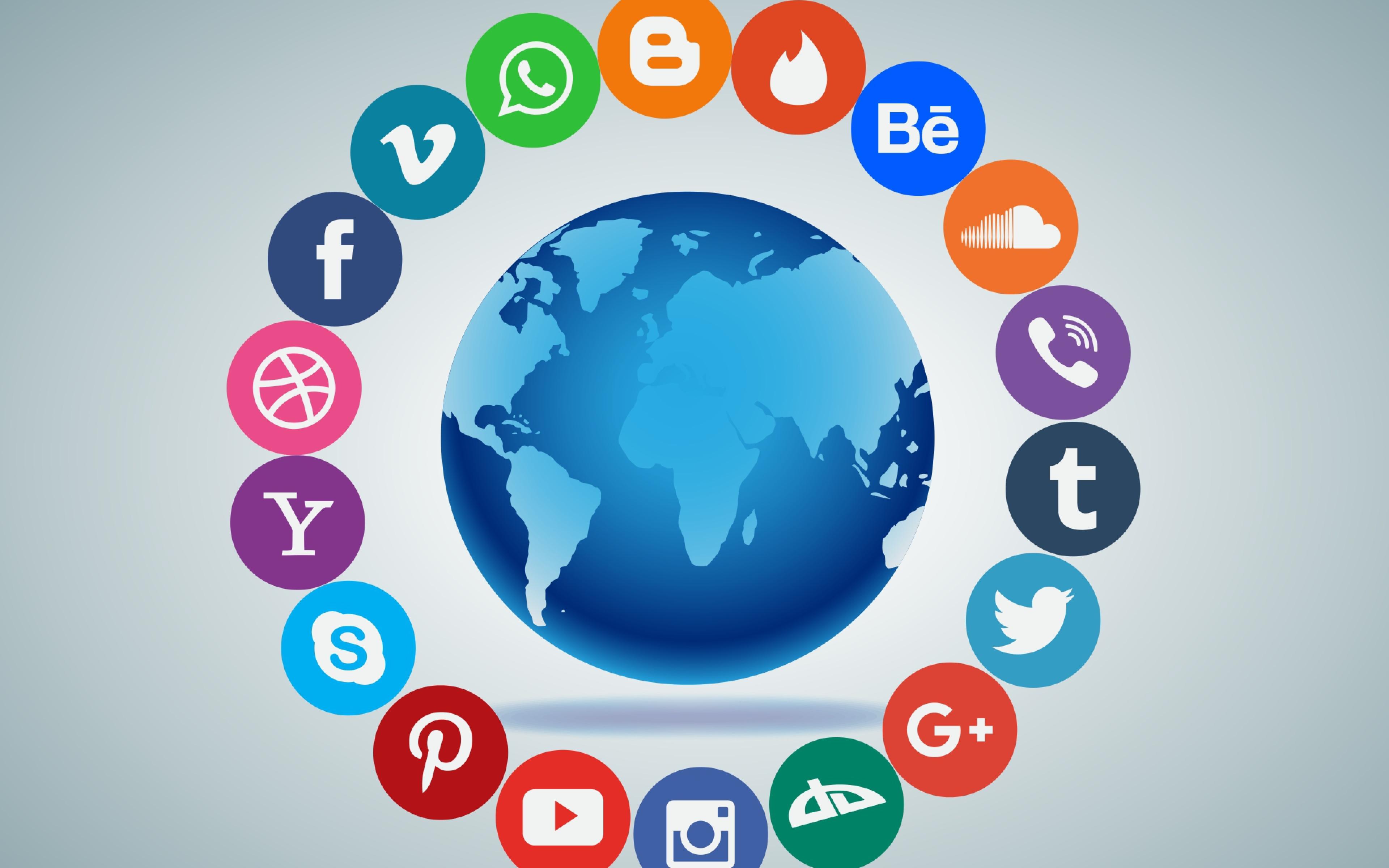 led sign social network - HD1320×825
